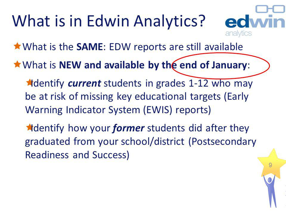 What is in Edwin Analytics