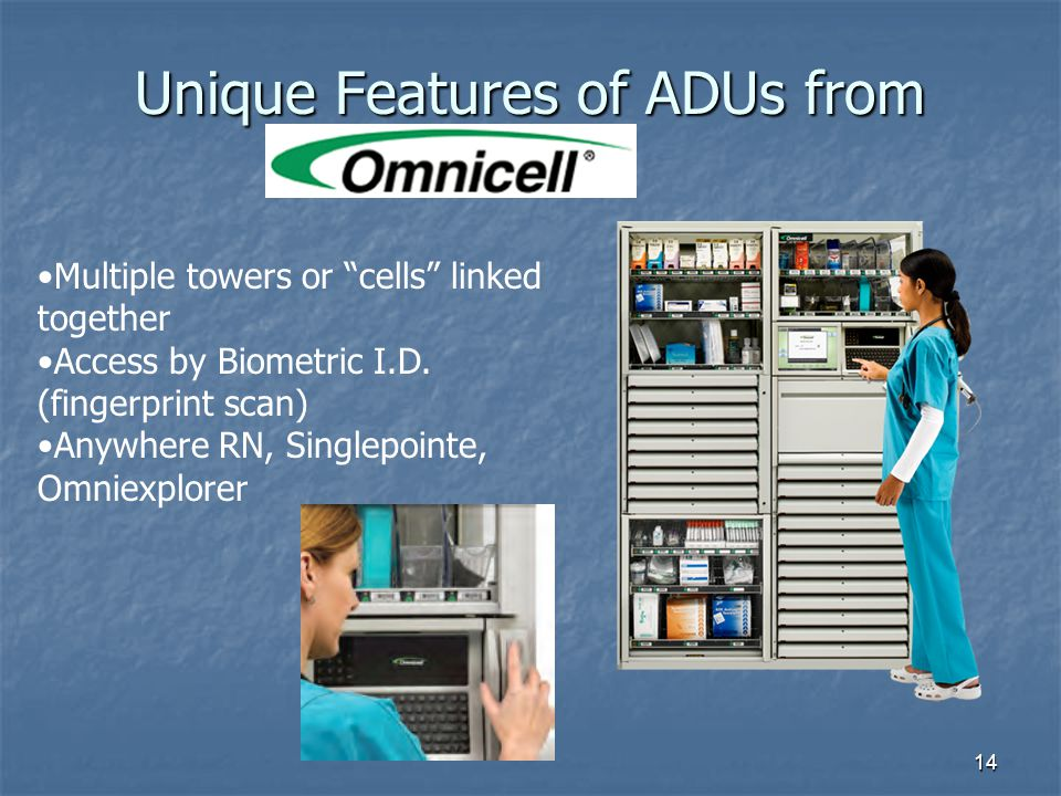 Unique Features of ADUs from