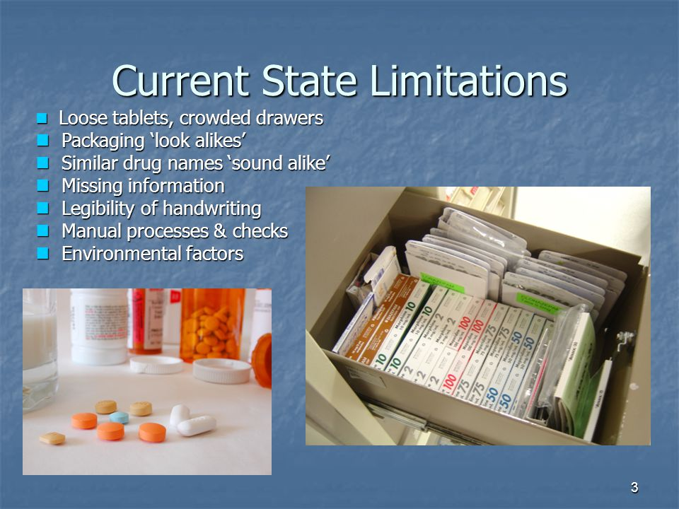 Current State Limitations