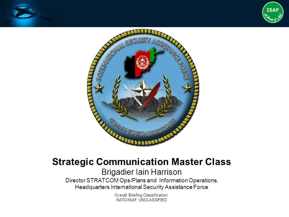 Strategic Communication Master Class
