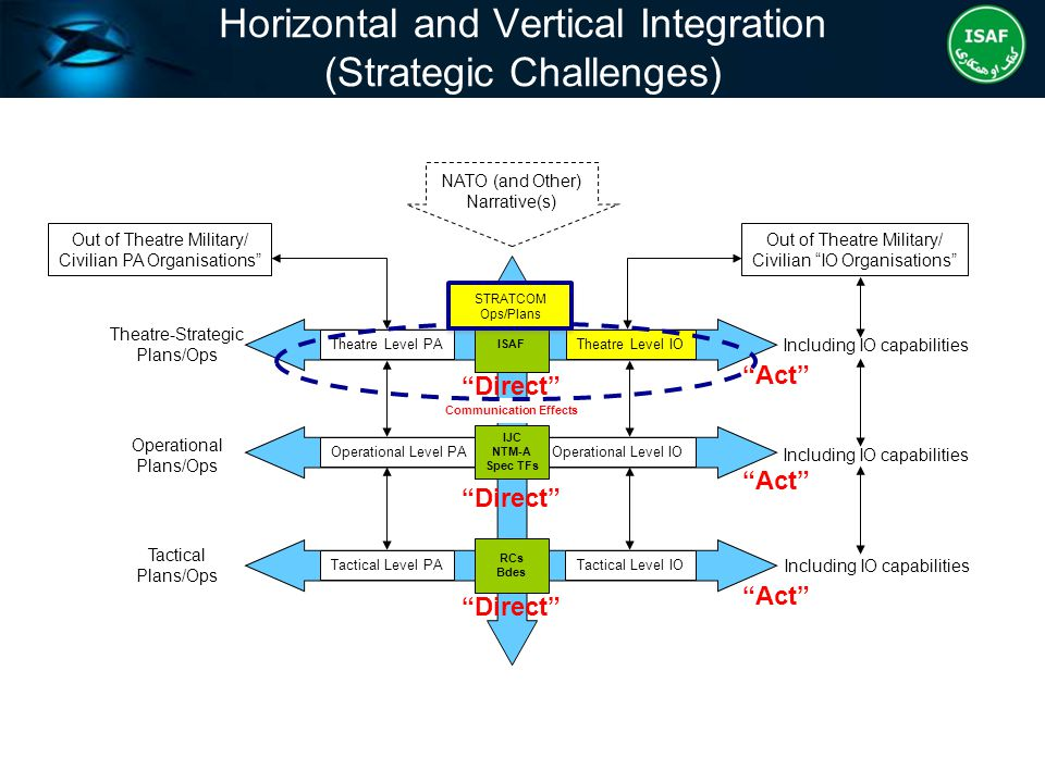 Horizontal and Vertical Integration (Strategic Challenges)