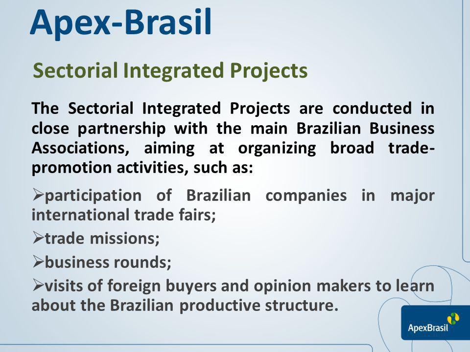 Apex-Brasil Sectorial Integrated Projects