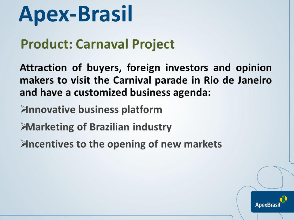 Apex-Brasil Product: Carnaval Project