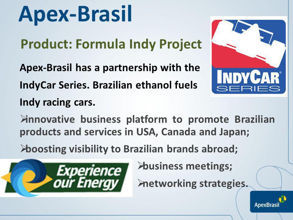 Apex-Brasil Product: Formula Indy Project