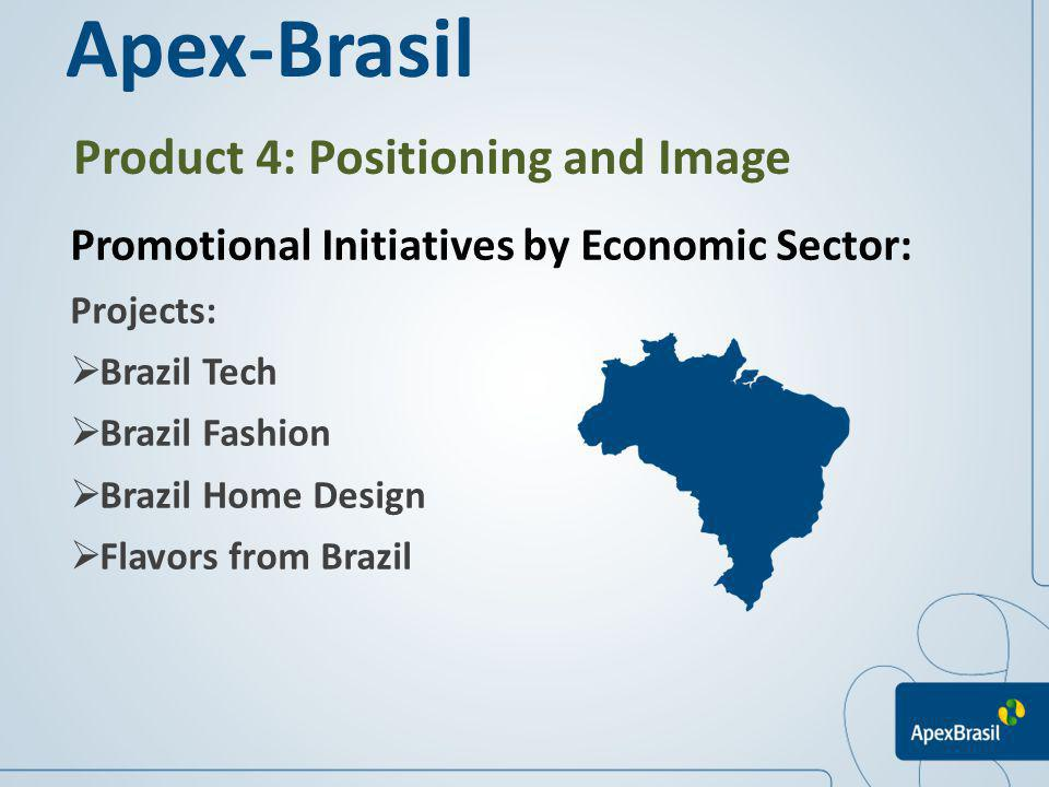 Apex-Brasil Product 4: Positioning and Image