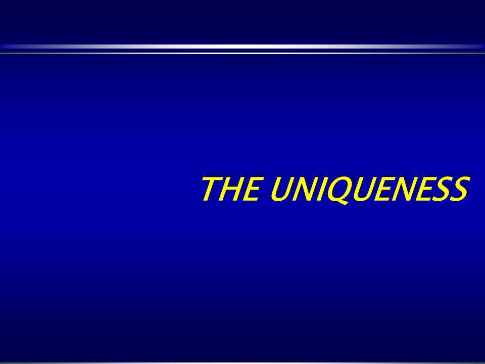 THE UNIQUENESS