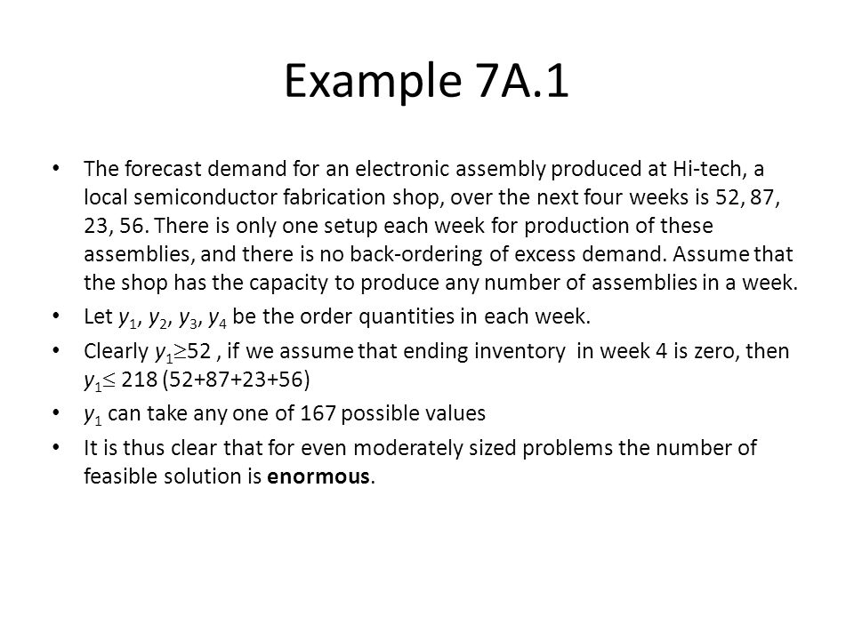 Example 7A.1