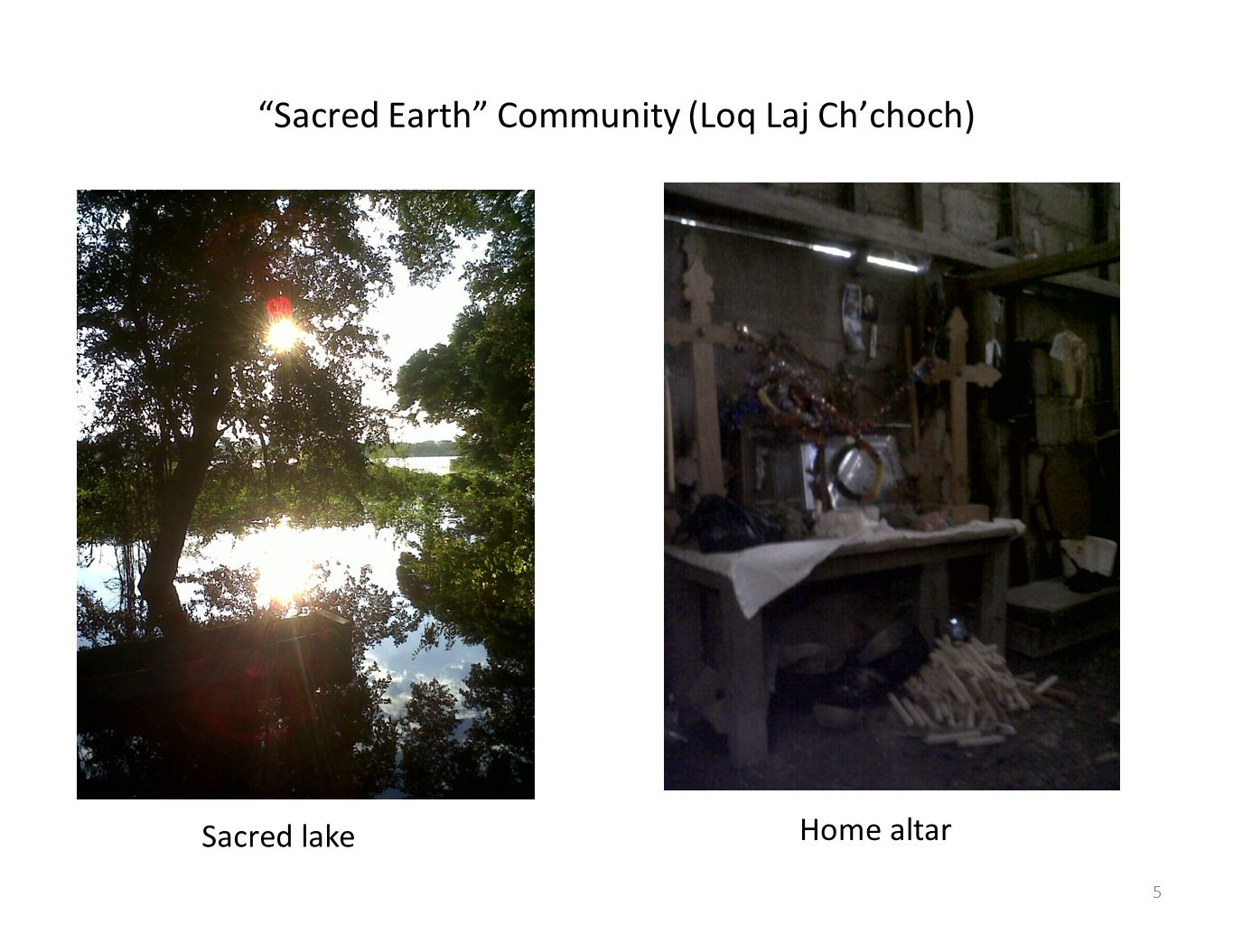 Sacred Earth Community (Loq Laj Ch'choch)