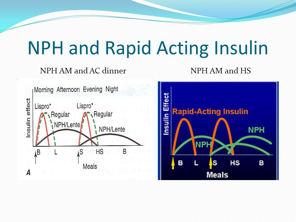 NPH and Rapid Acting Insulin