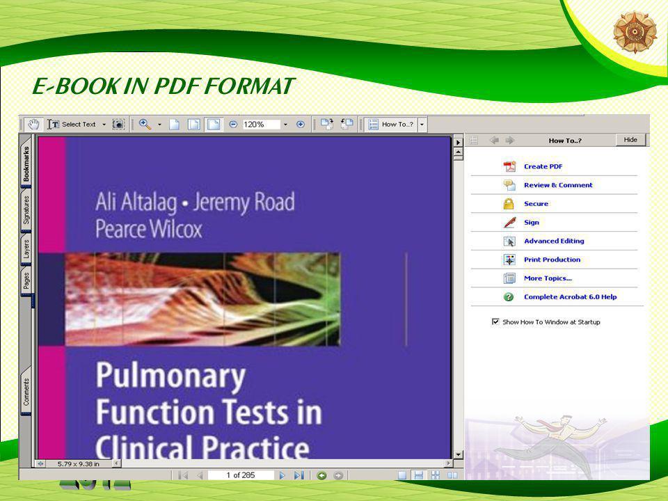 E-BOOK IN PDF FORMAT