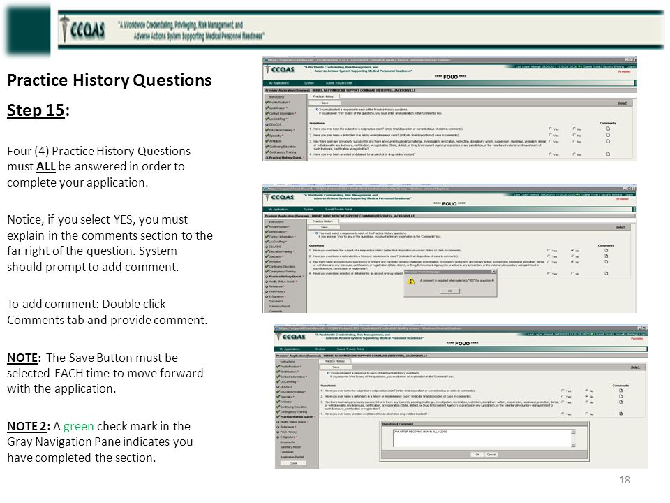 Practice History Questions