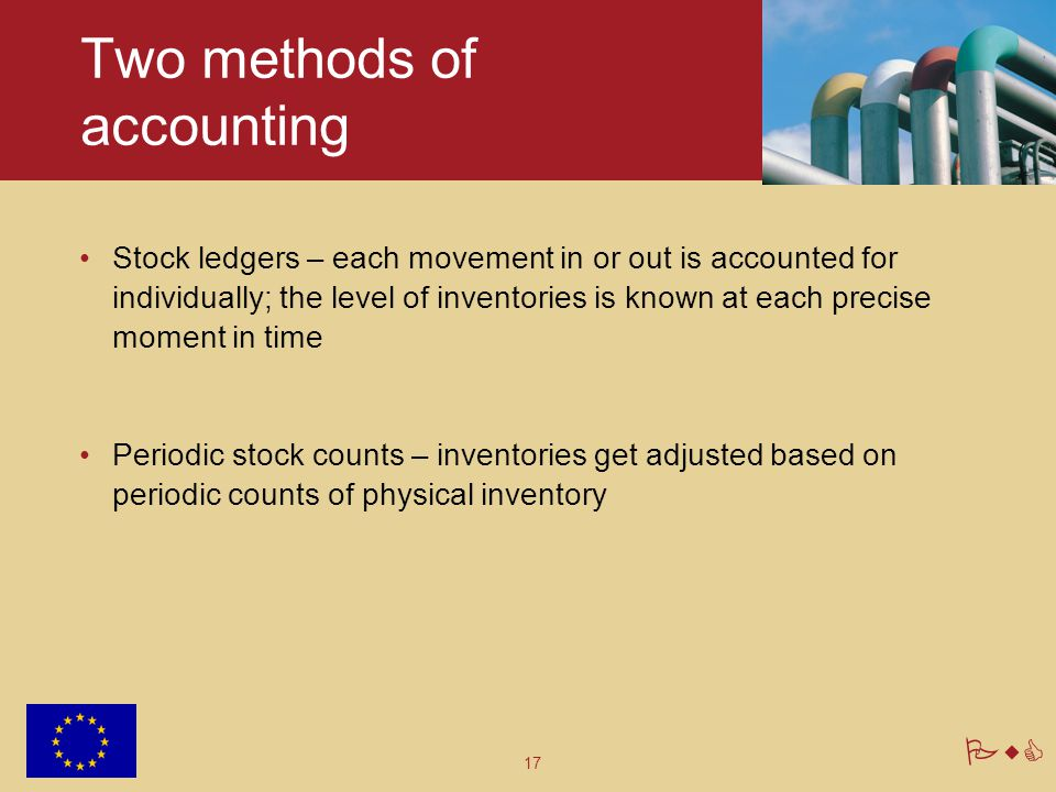 Two methods of accounting