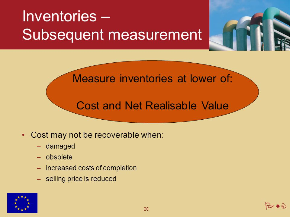 Inventories – Subsequent measurement
