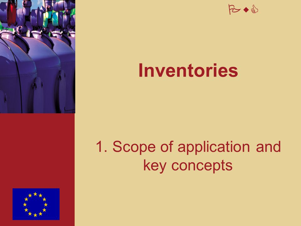 1. Scope of application and key concepts