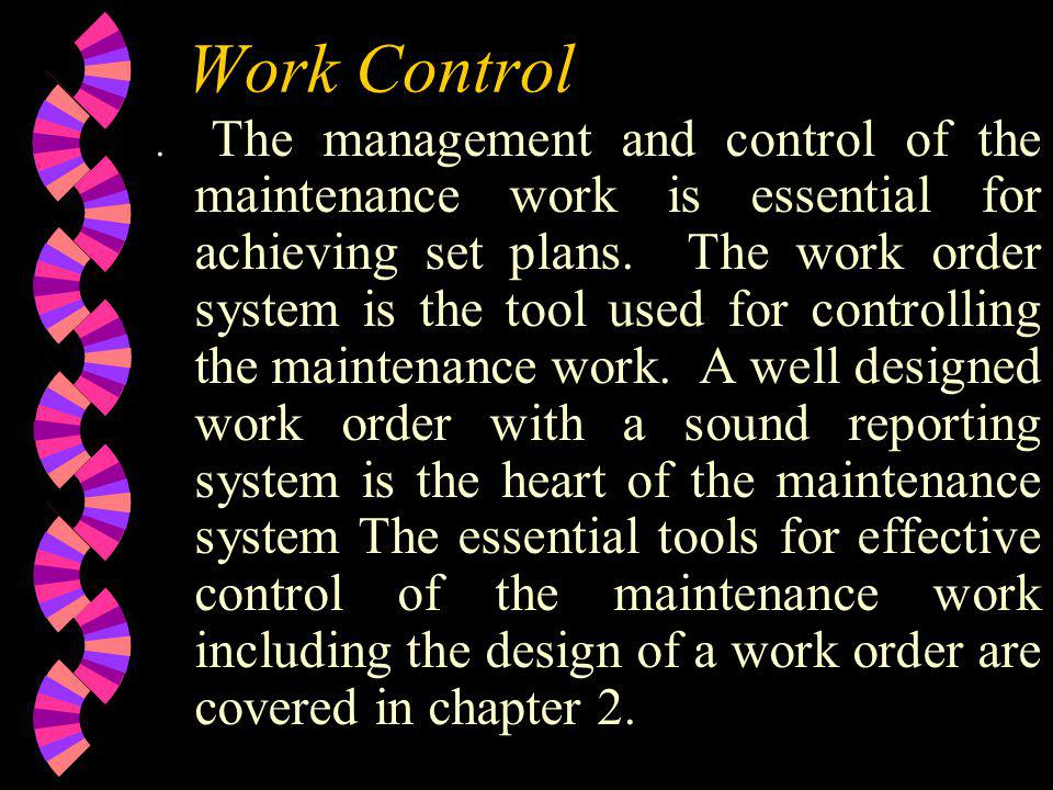 Work Control