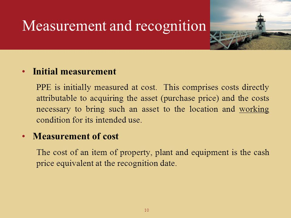 Measurement and recognition