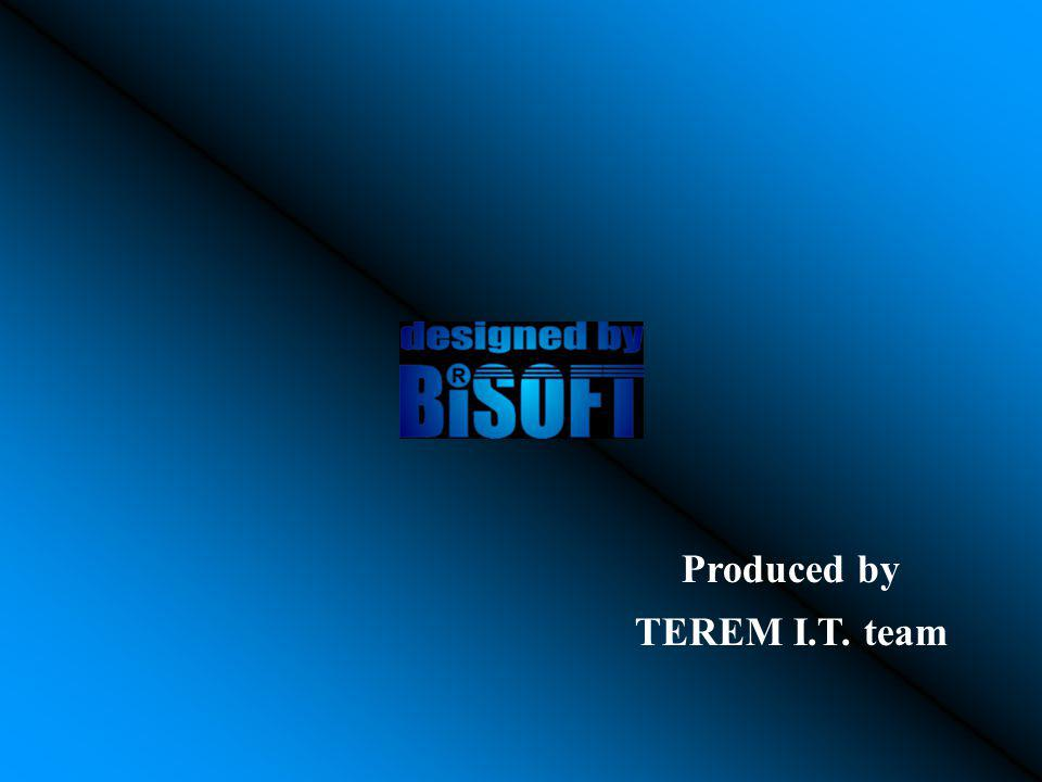 Produced by TEREM I.T. team