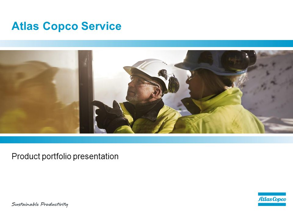 Product portfolio presentation