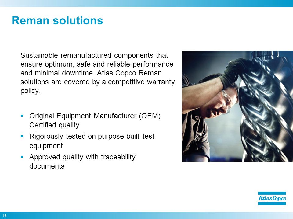 Reman solutions