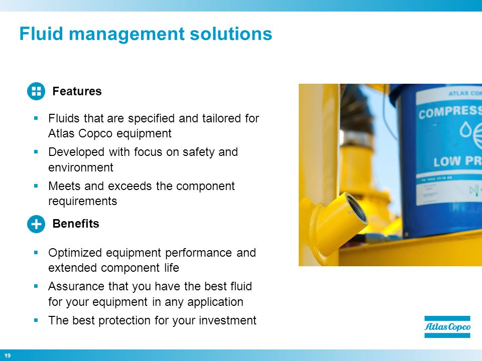 Fluid management solutions
