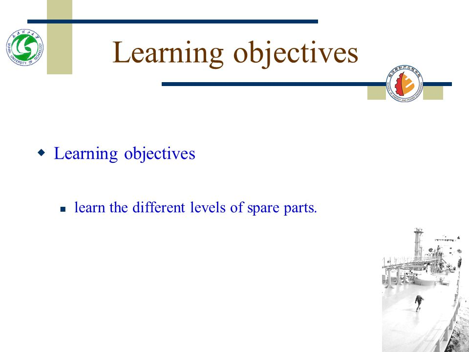 Learning objectives Learning objectives