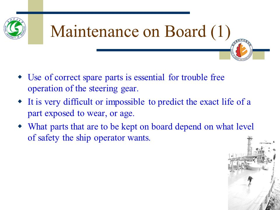 Maintenance on Board (1)