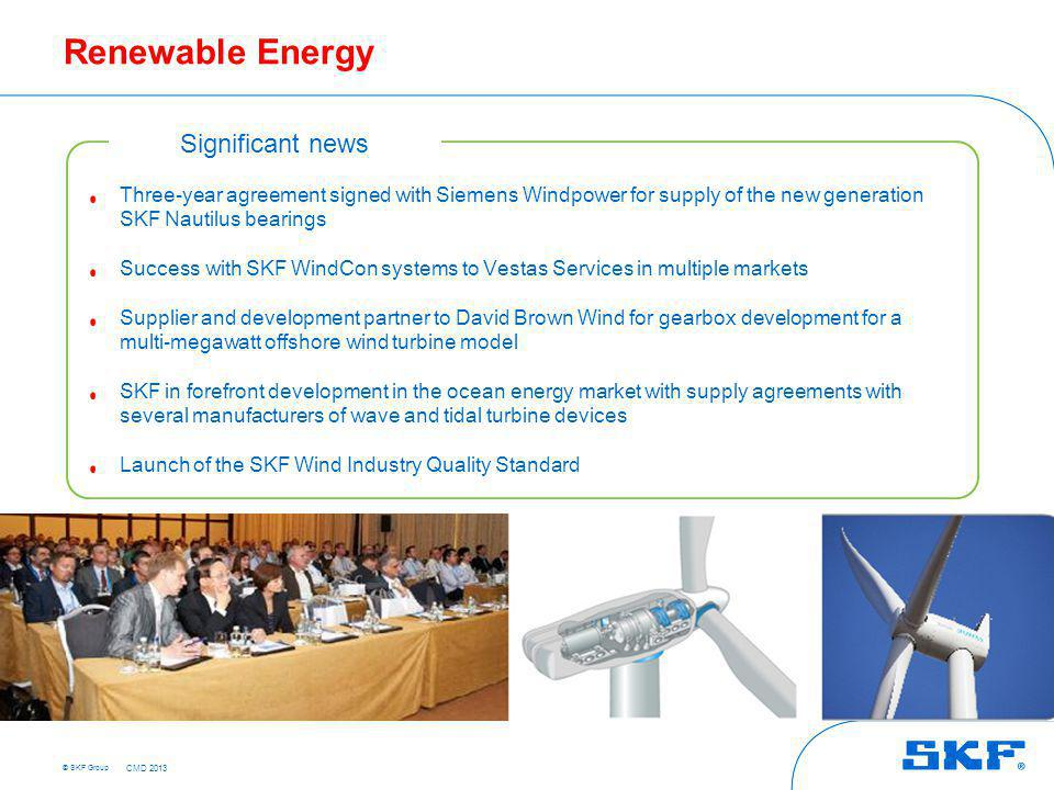 Traditional Energy Significant news