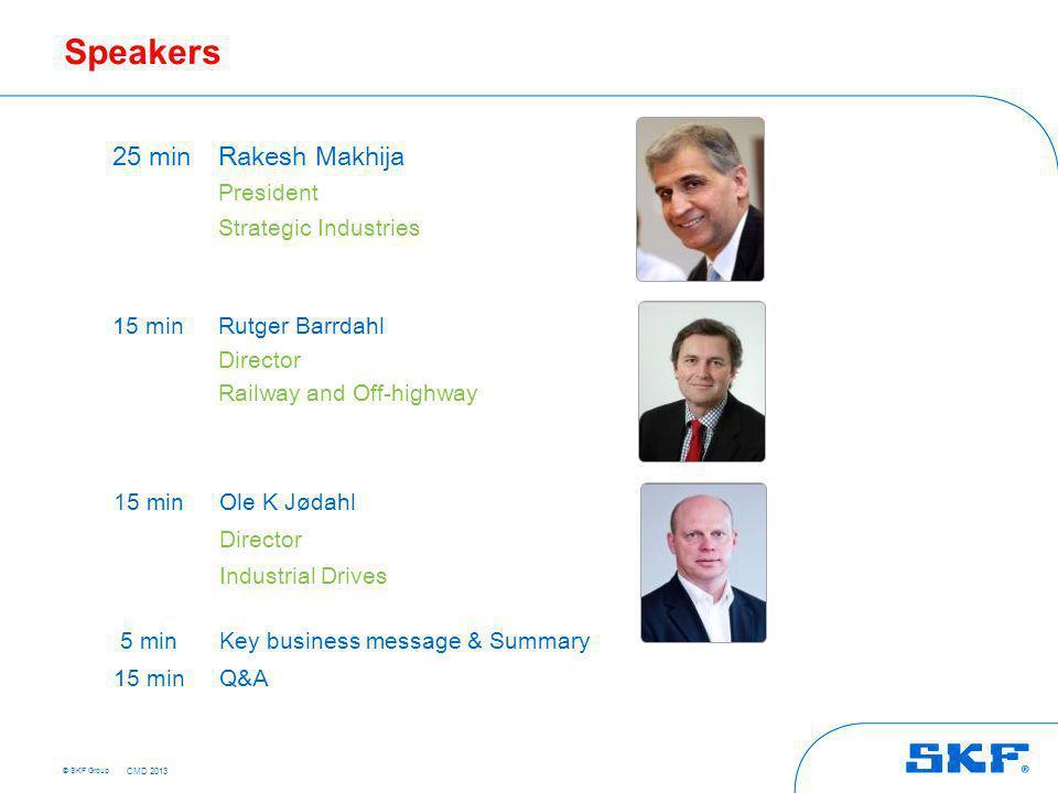Agenda Strategic Industries agenda & overview Significant news
