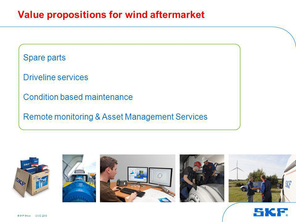 Availability – Spare Parts Management Program for wind
