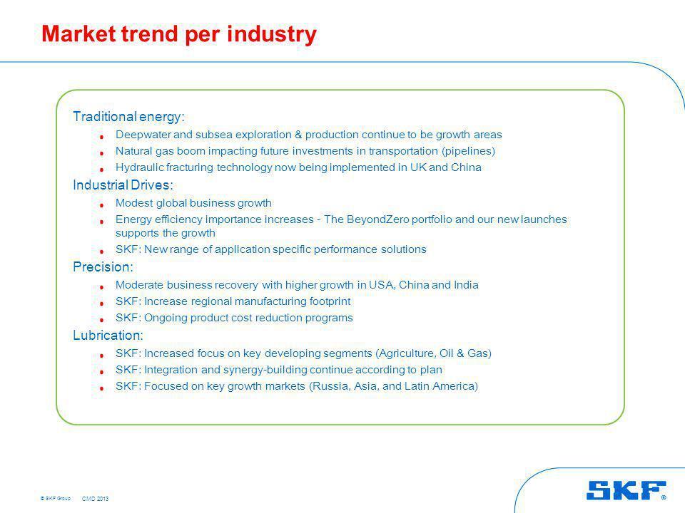 Key business message – Strategic Industries
