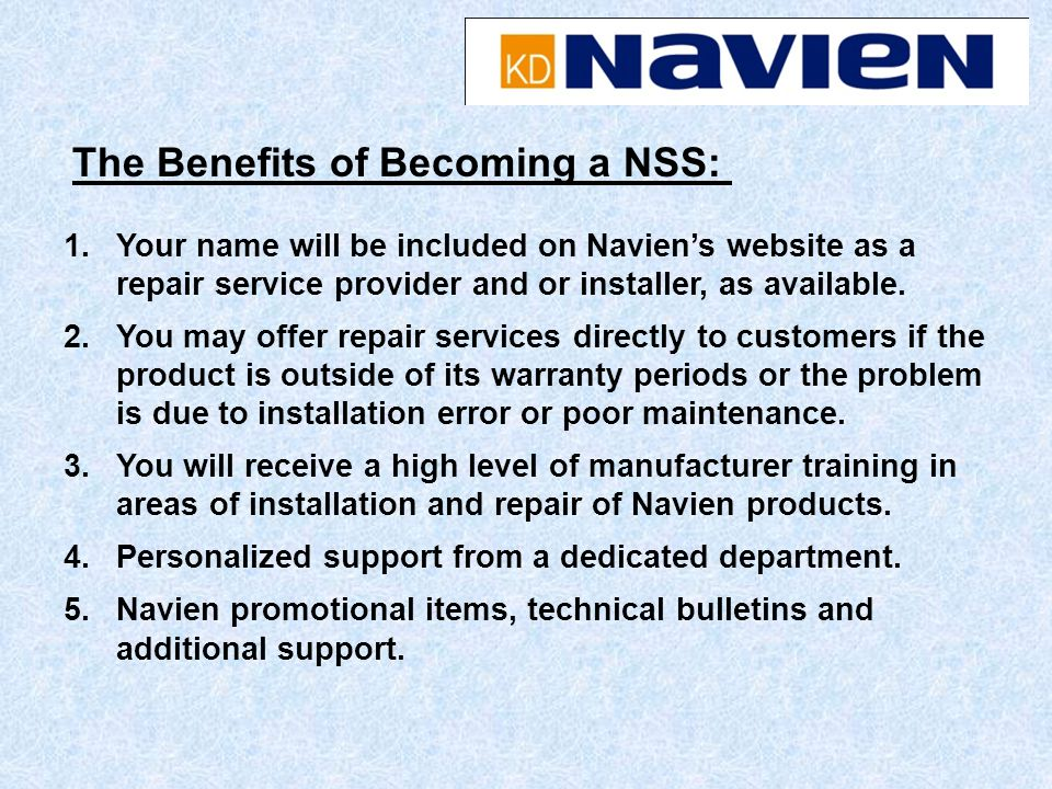 The Benefits of Becoming a NSS: