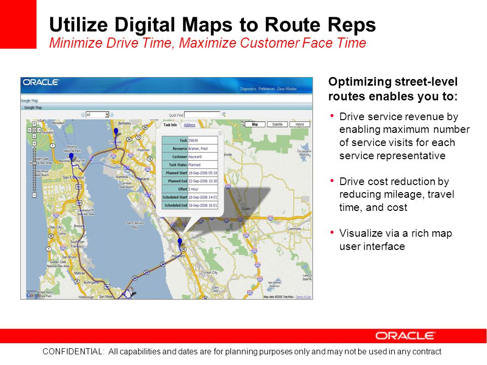 Utilize Digital Maps to Route Reps Minimize Drive Time, Maximize Customer Face Time