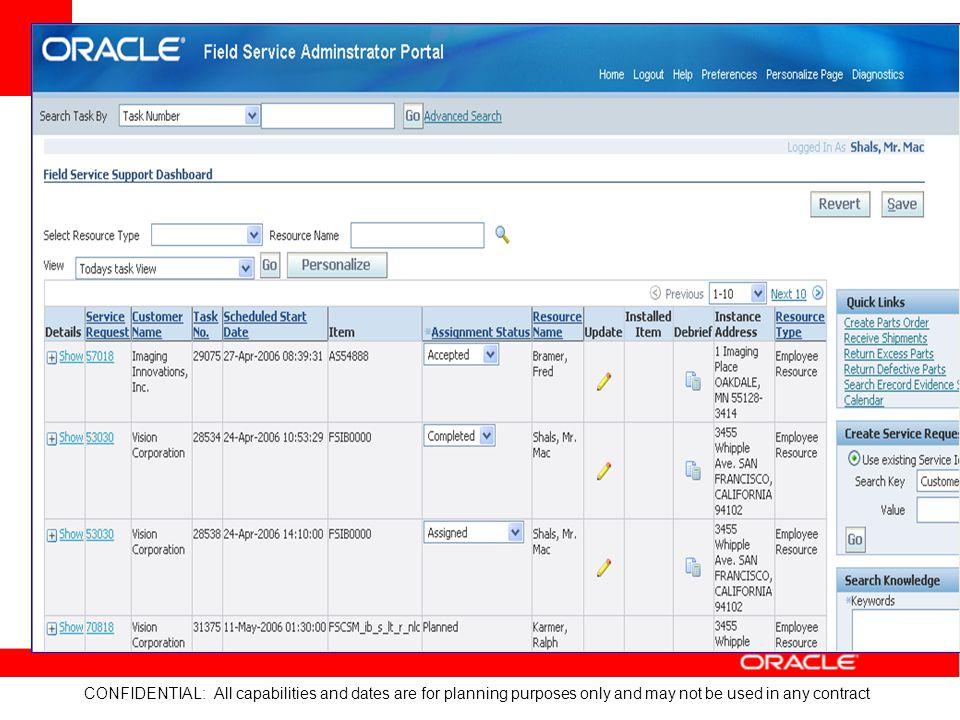 Field Tech Admin Portal
