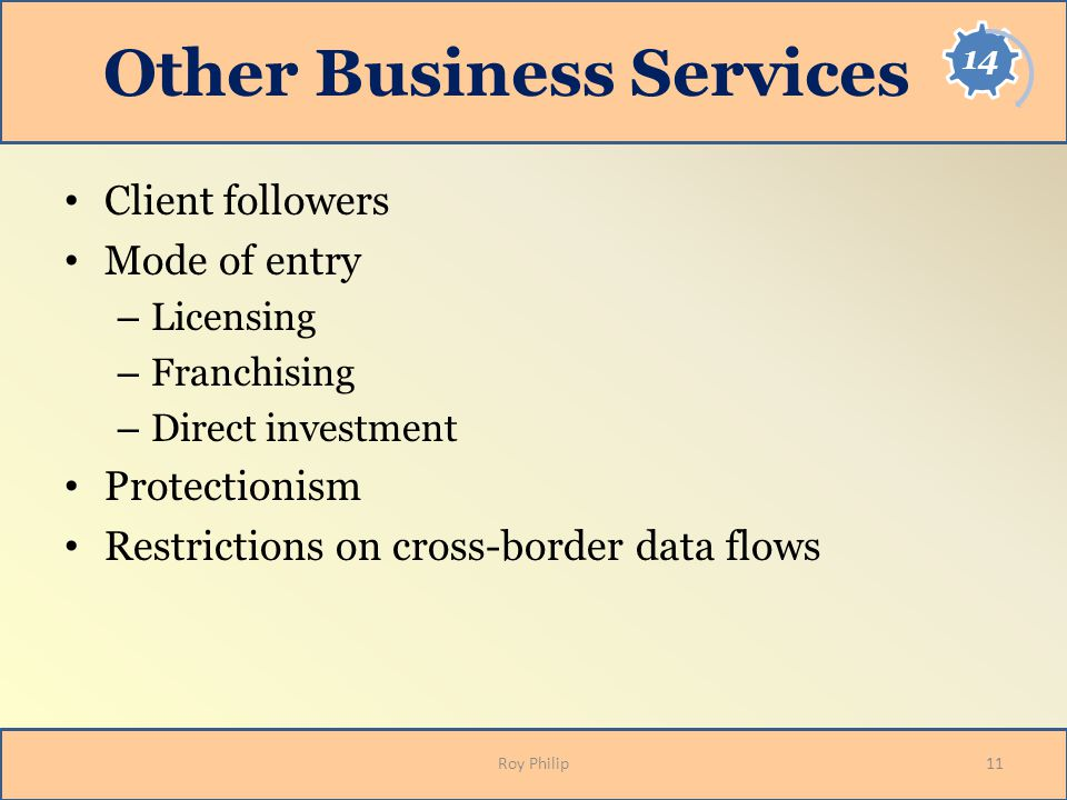 Other Business Services