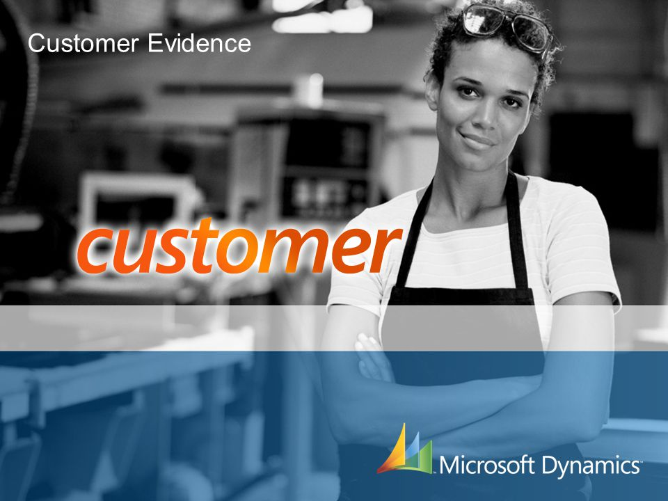 Customer Evidence 3/31/2017 7:26 PM