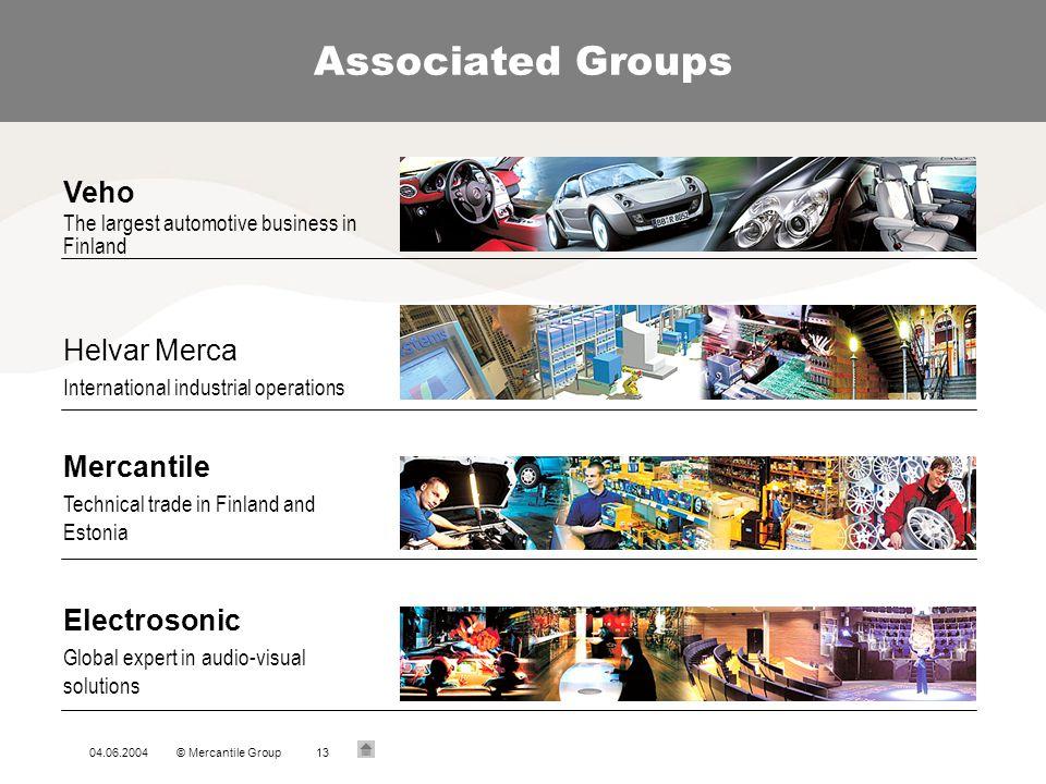 Associated Groups Veho Helvar Merca Mercantile Electrosonic