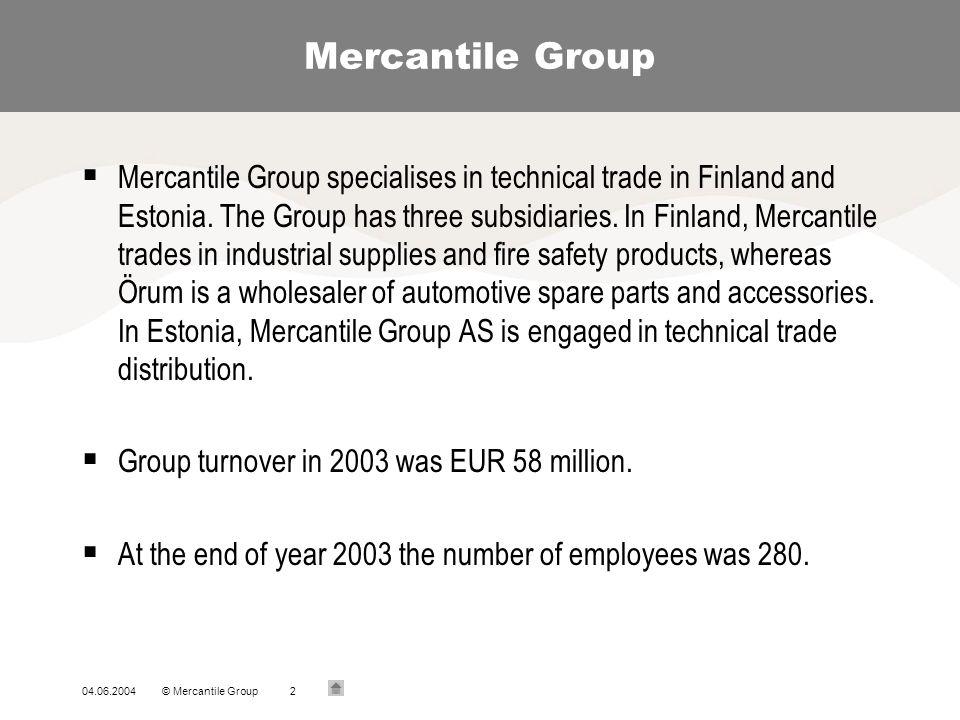 Mercantile Group