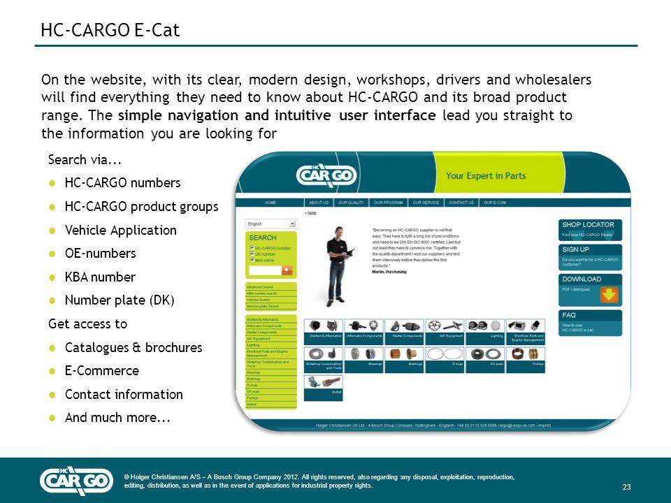 HC-CARGO E-Cat