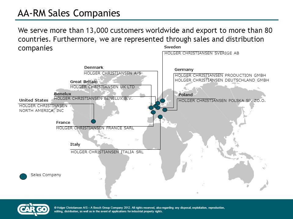 AA-RM Sales Companies