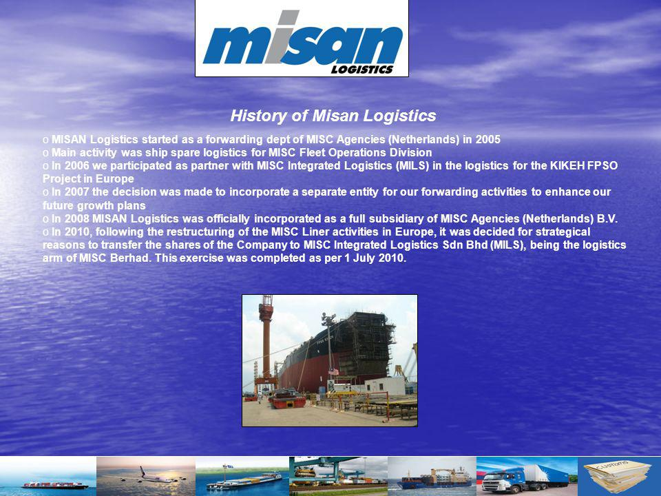 History of Misan Logistics
