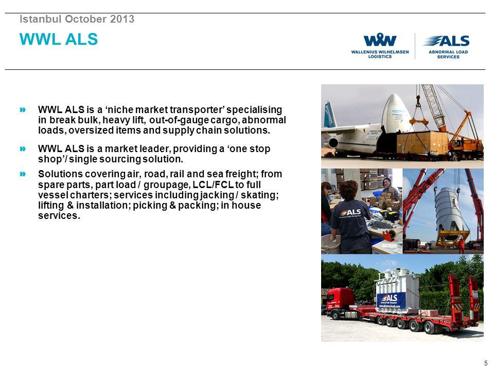 Istanbul October 2013 WWL ALS.