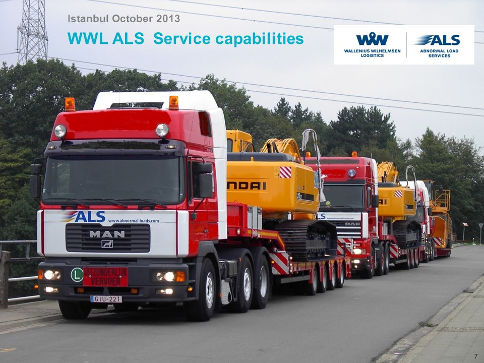 WWL ALS Service capabilities