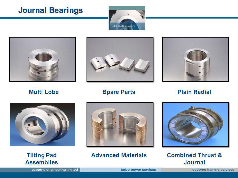 Tilting Pad Assemblies Combined Thrust & Journal