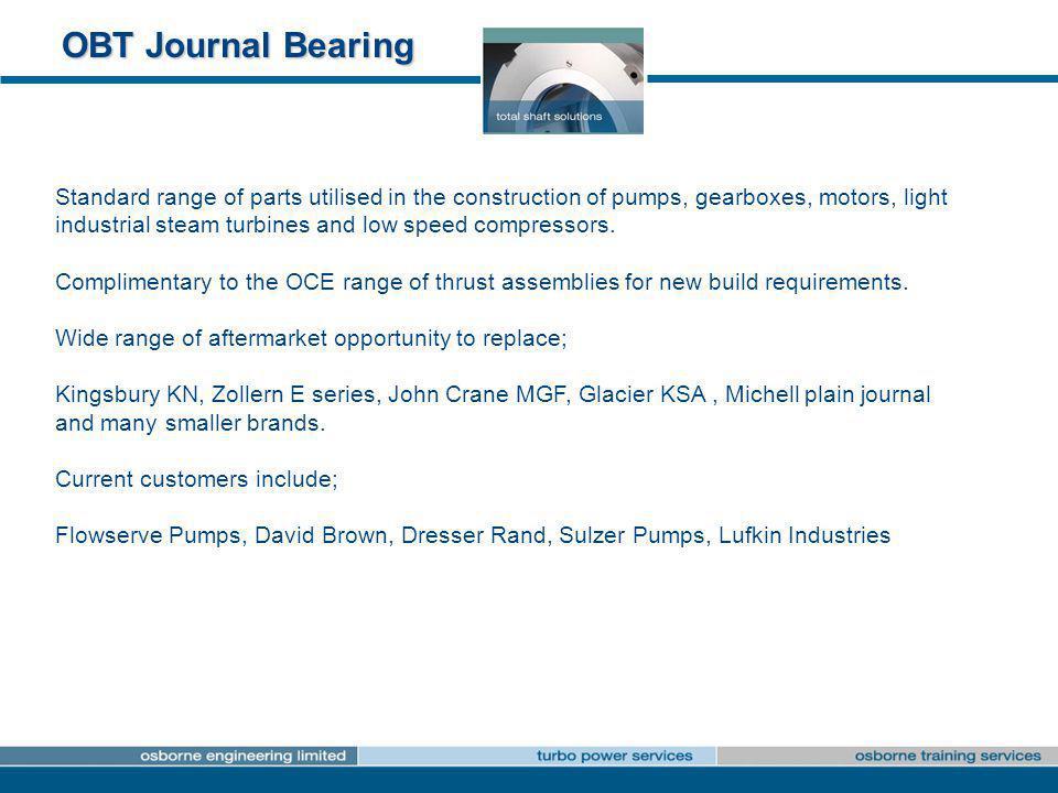 OBT Journal Bearing