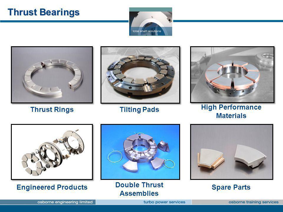 High Performance Materials Double Thrust Assemblies