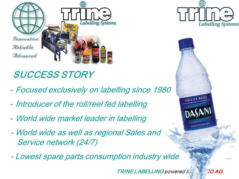 TRINE LABELLING powered by MEECO AG