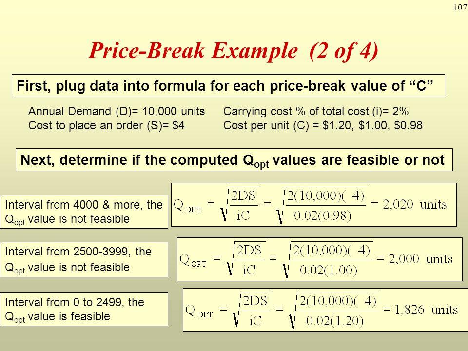 Price-Break Example (2 of 4)