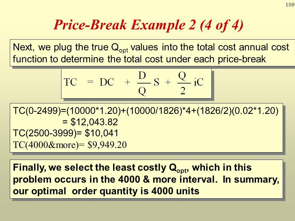 Price-Break Example 2 (4 of 4)