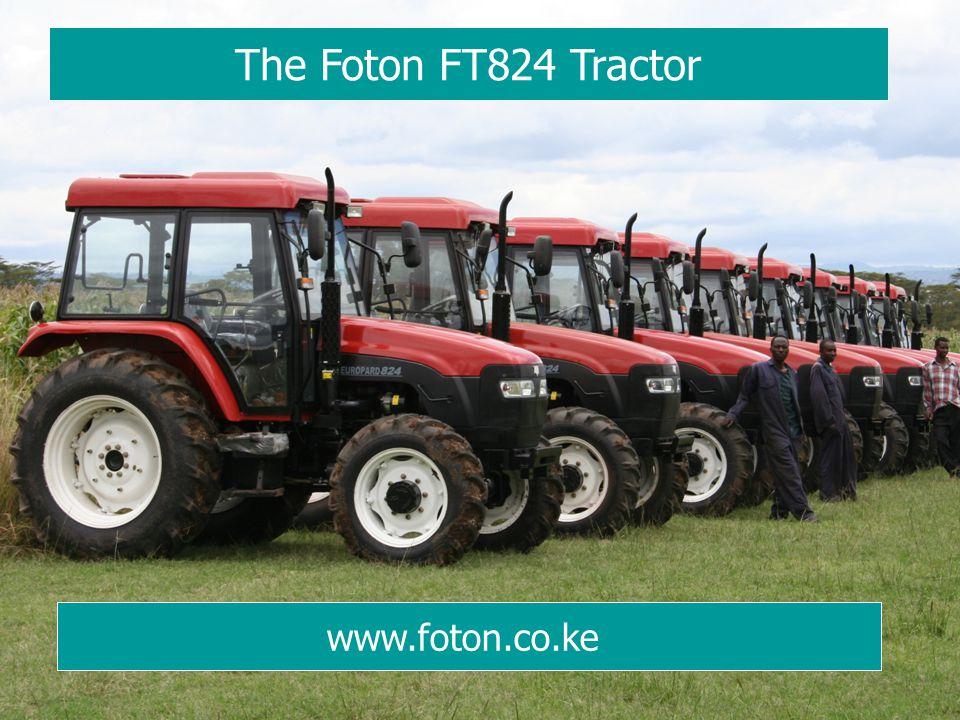 The Foton FT824 Tractor www.foton.co.ke