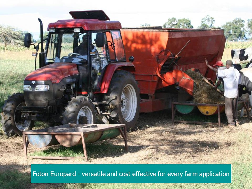 Foton Europard - versatile and cost effective for every farm application
